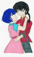 Ranma and Akane by seraM
