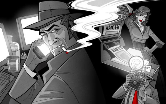 Noir Web Banner by malara-art