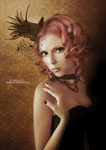Red Doll by MyDigitalArt