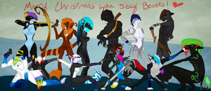 You sexy beasts by Nari16