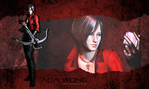Ada Wong wallpaper by Queen-Stormcloak