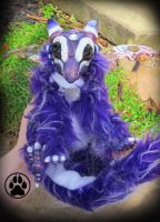-SOLD- Methystos the amethyst dragon art doll by CreaturesofNat