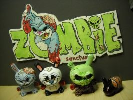 Group shot zombie sanctuary by anthonyDeVito