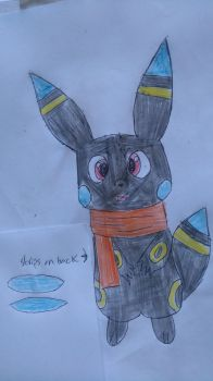 Contest entry Oc Raven the umbrechu by vocaloidninja1999