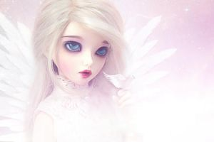 Angel by Lysiere