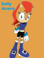 Sonic 25th Day 6: Sally Acorn by SuperSentaiHedgehog