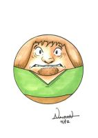 CircleToon: Shaggy from Scooby Doo by Fellhauer