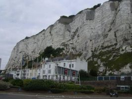 White Cliffs  Dover UK by Impedancer