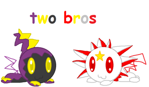 Two Bros by MienfooInTraining