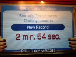 Concentration Challange New Record 2 min 54 sec by Keyotea