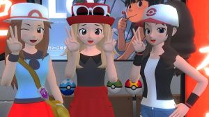 Pokemon Girl Trainers!^^ by xSakuyaChan510x