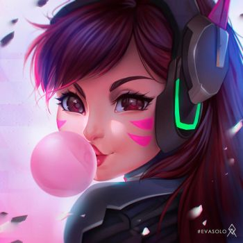 D.VA Portrait by EvaS0L0