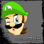 Gift: Luigi for you! by jeepfy