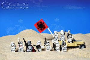 Lego Stormtroopers -Idiots in the Desert with Guns by Jbressi