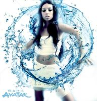 Katara Cosplay- Waterbending by YourLittleBocchan