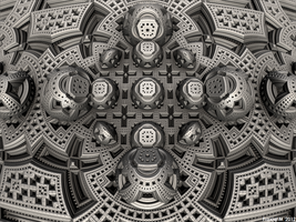 Triple Menger by fraxialmadness3
