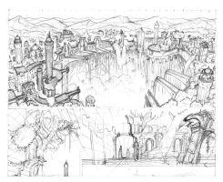 The ancient ruins - wip by Dr-Manhttan