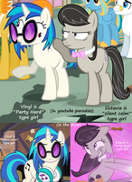 did Vinyl and Octavia switch personalities? by titanium-pony