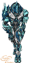 Elite ice armor by MuddyTiger