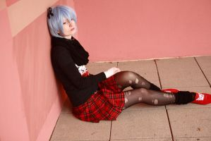 .:Rei Ayanami (Rock it):. by KaLi-Cosplay