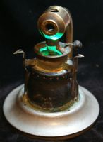 Steampunk Sculpture light 3 by RiverOtterWidget