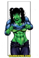 SHE-HULK TEASE by Dwid