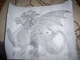Pencil Dragon by Monster-House-Fan92