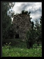 An old windmill ruins... by Yancis