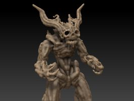 Zbrush: Daemon by OEVRLORD
