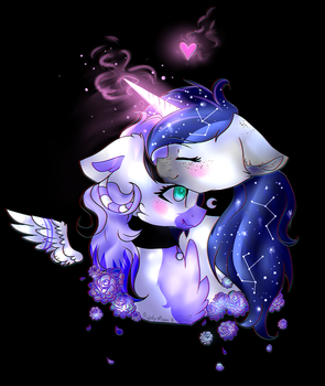 LavenderxNighty by Starflare244