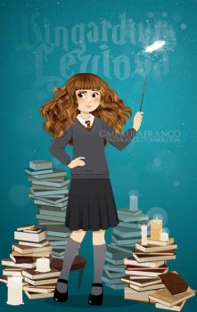 Hermione Granger by paufranco
