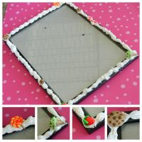 Decoden Photo Frame by Cheriko