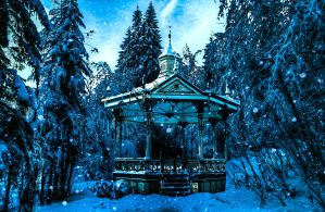 PREMADE BACKGROUND - WINTER IS HERE by KerensaW
