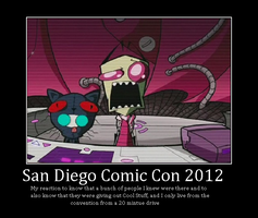 SDCC 2012 Demotivational Poster by TAGMAN007