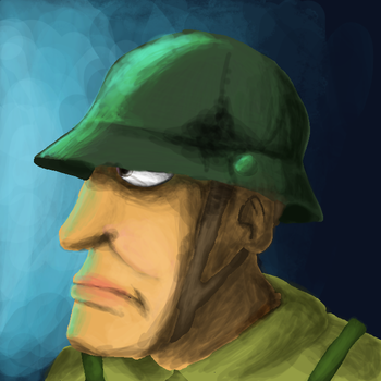 generic Soldier by BEEISBLUE