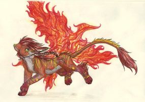 Catching Fire by iheartart132