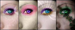 Eye Love Glitter (Set) by SecretConfession