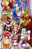 Magi drawing part 2 by Nekkohime