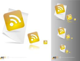 icon RSS by AndexDesign