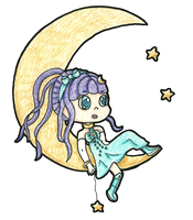 Shoot For the Moon by Cupcake-Kitty-chan