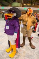 Launchpad and Darkwing by BlackStray