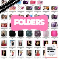Icons Folders by DaniaPeaceeLovee