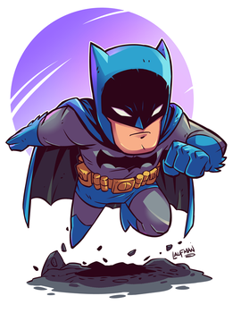 Chibi Batman by DerekLaufman