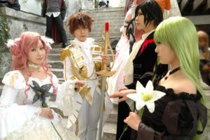 Code Geass - Four of us by Cheriikyandi01