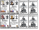 Organization XIII Cosplay ID Cards by Sailor-Jeimi