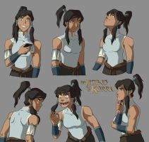 Korra color sketches by tanya-buka