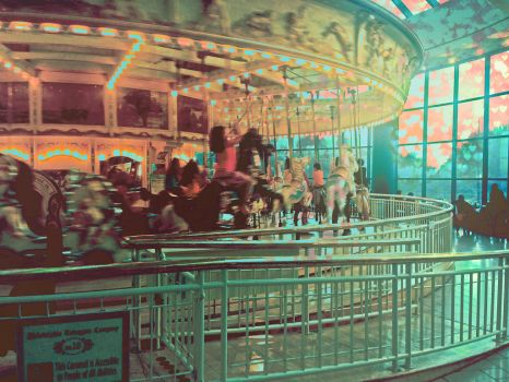 Commercial Carousel. by trishajessica