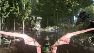 Pteranodon Swamp Fly by Shadowboy378