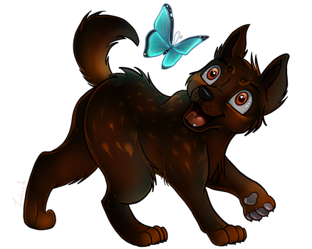 Hyeon Butterfly YCH by Zoba22