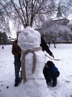 Jomy the Snowman by DreamBex